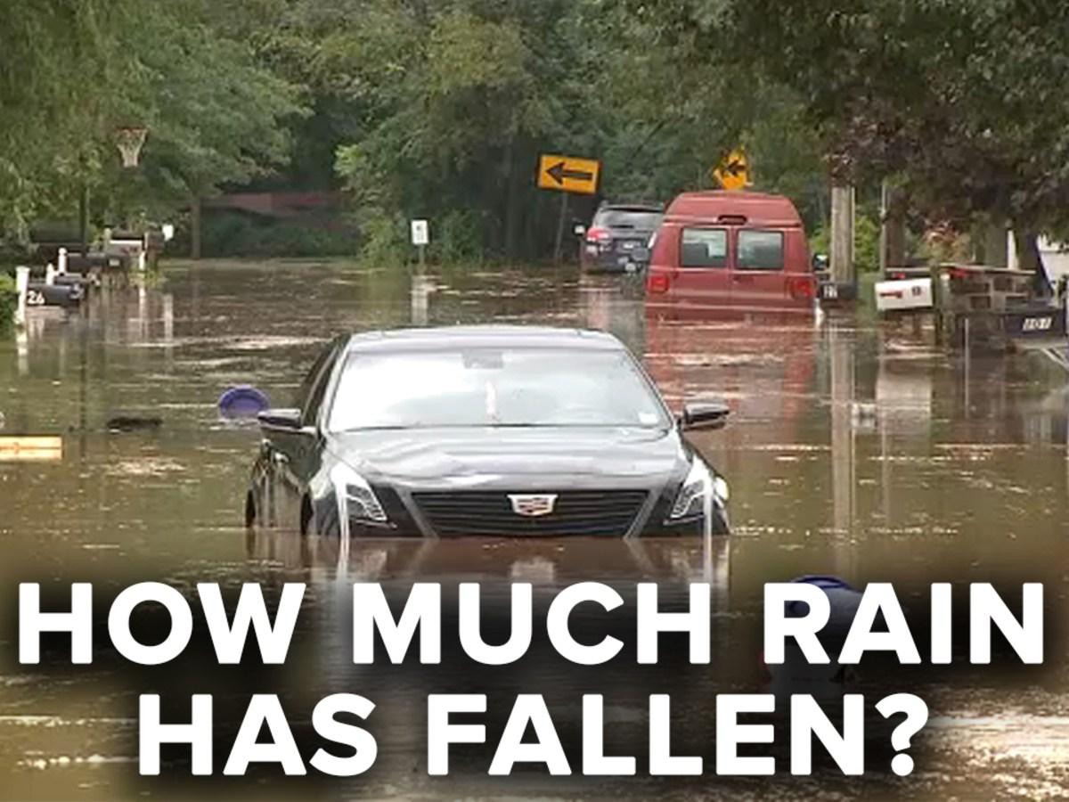 Tropical Storm Henri: Rainfall totals in New York City Tri-State area