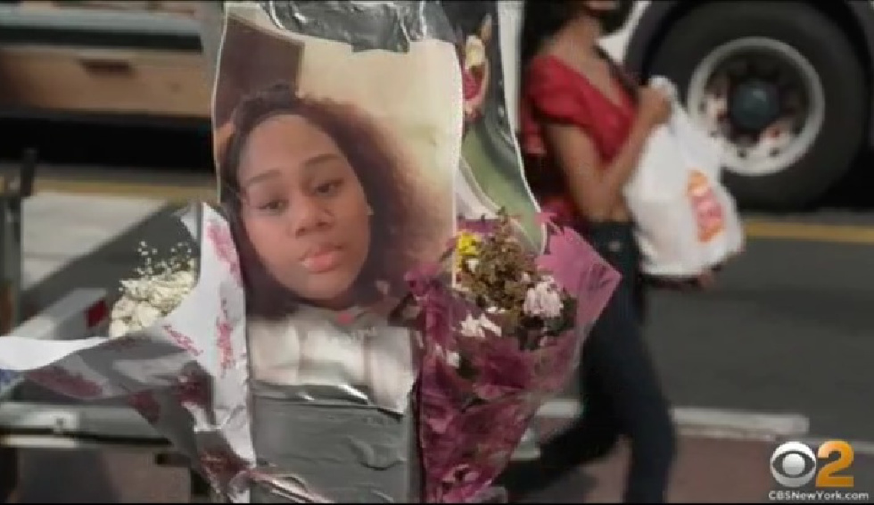 Family Of 20-Year-Old Aniyah Blandon, Killed By Suspected Drag Race Last Week, Hold Protest In Crown Heights