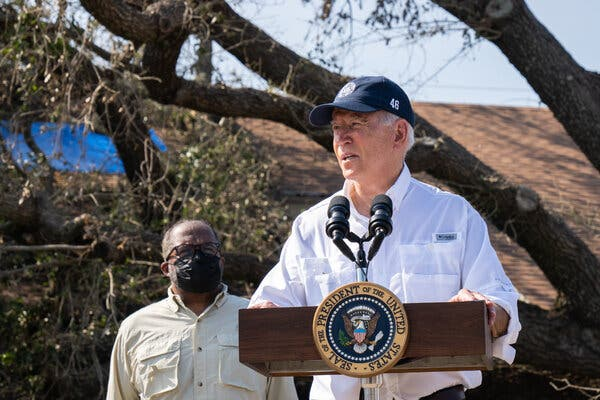 Biden to Visit Northeast Flood Zones as Demand Grows for Climate Action