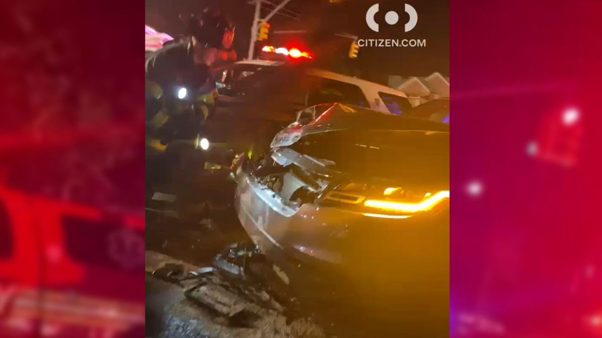 Girl, 9, thrown from SUV in Brooklyn collision; driver in custody for possible DWI: NYPD