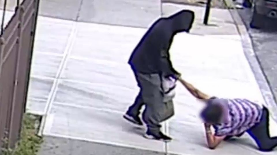 Suspect identified in heartless beating of woman clinging to money she made collecting cans