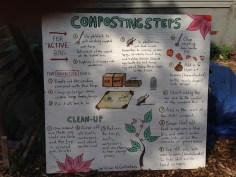 Compost 101 via Bushwick artist, Willow Goldstein