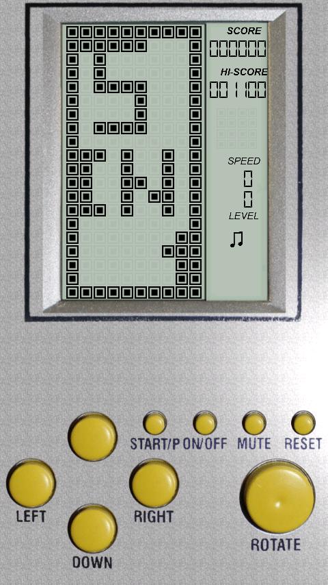 Brick Games - Giả lập máy điện tử cầm tay trên Android