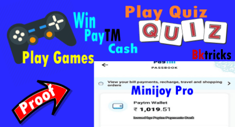 Updated] Minijoy Pro Apk Play Games & Quiz and win Free