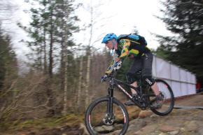 Attending the launch of a new trail at Fort William's Nevis Range mountain biking centre in February with No Fuss Events.