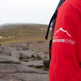 Glenmore Lodge uniform on the hills.