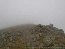 Sgor an Lochain Uaine / Angel's Peak summit.