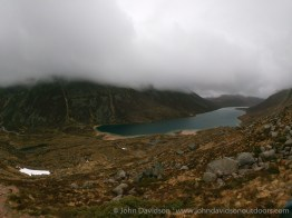 Loch Avon from the climb towards Etchachan.