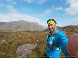 John with Liathach for company.