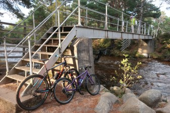 The Cairngorm Club Bridge.