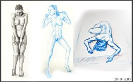 Life Drawing from 2010