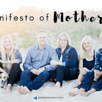 My Manifesto of Motherhood