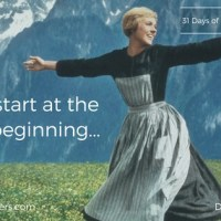 Day 1 - Let's Start at the Very Beginning (Worship)