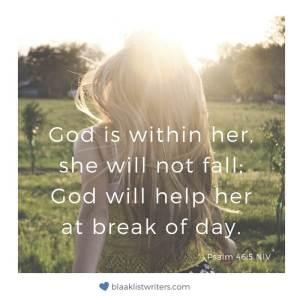 Bible Verse - Psalm 46:5