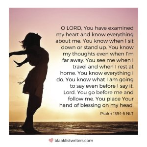 Favourite Bible Verse - Psalm 139:1-5