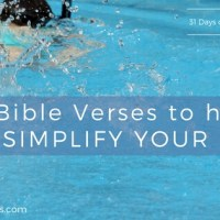 10 Bible Verses to Help You SIMPLIFY YOUR LIFE