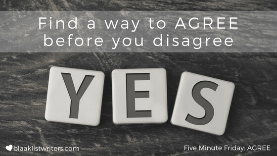 FMF - Agree before you disagree