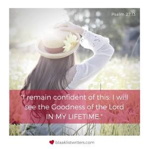 Image - Psalm 27:13 (paraphrased)