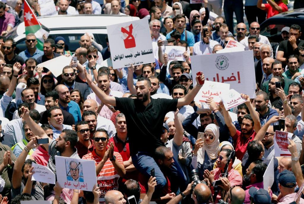 jordan, protest, amman, reuters, muhammadhamed