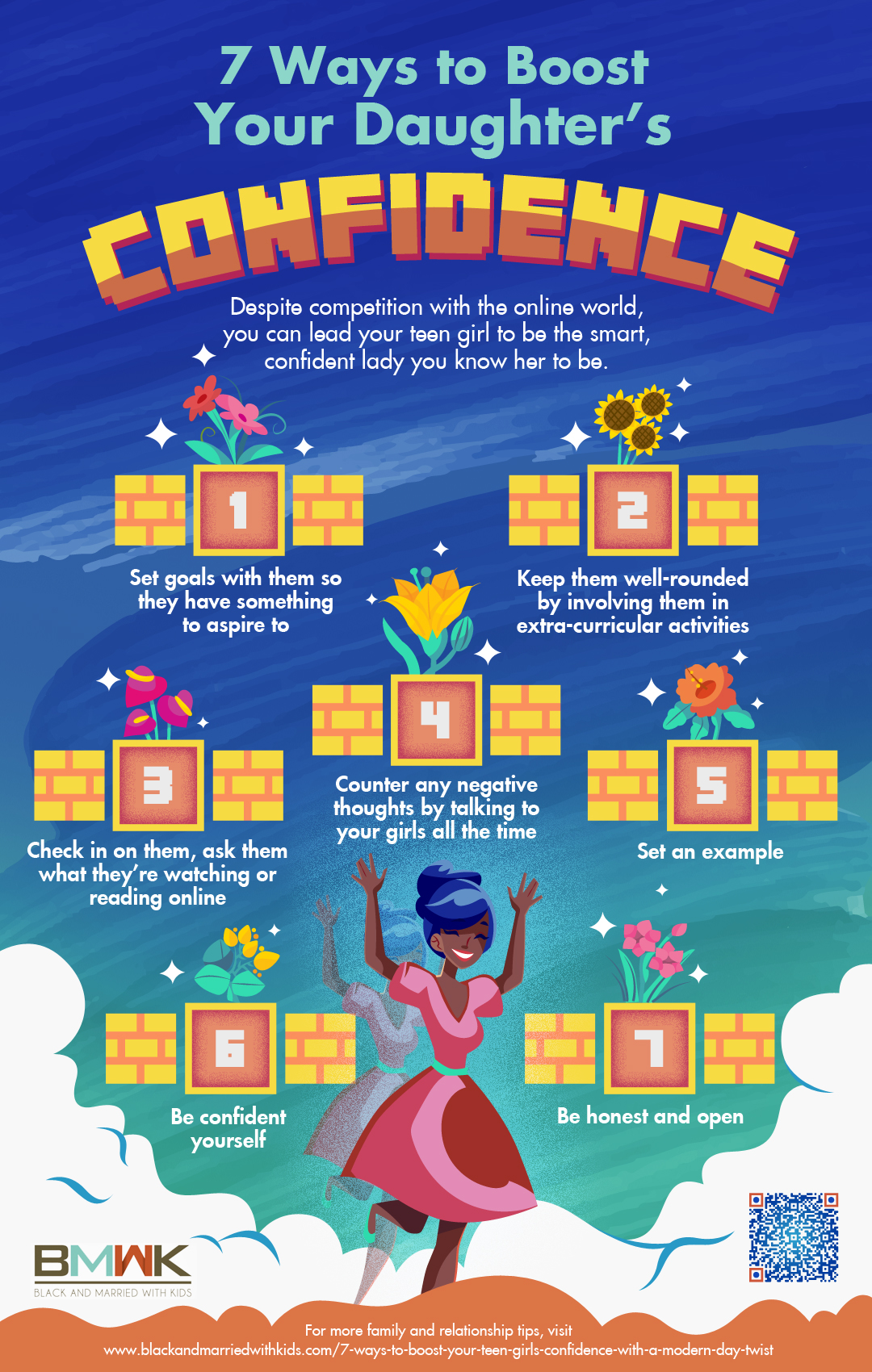 infographic | 7 Ways To Boost Your Daughter's Confidence