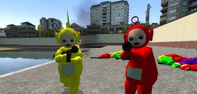 Garry's Mod Teletubbies