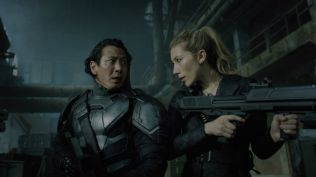 Altered Carbon Takeshi and Reileen