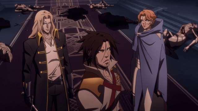 Castlevania (2018) Belnades, Belmont, and Son.png
