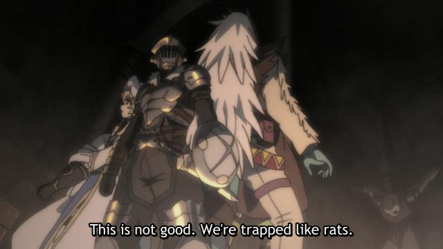Goblin Slayer ITS A TRAP