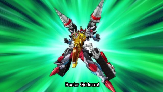 SSSS.GRIDMAN Buster Gridman