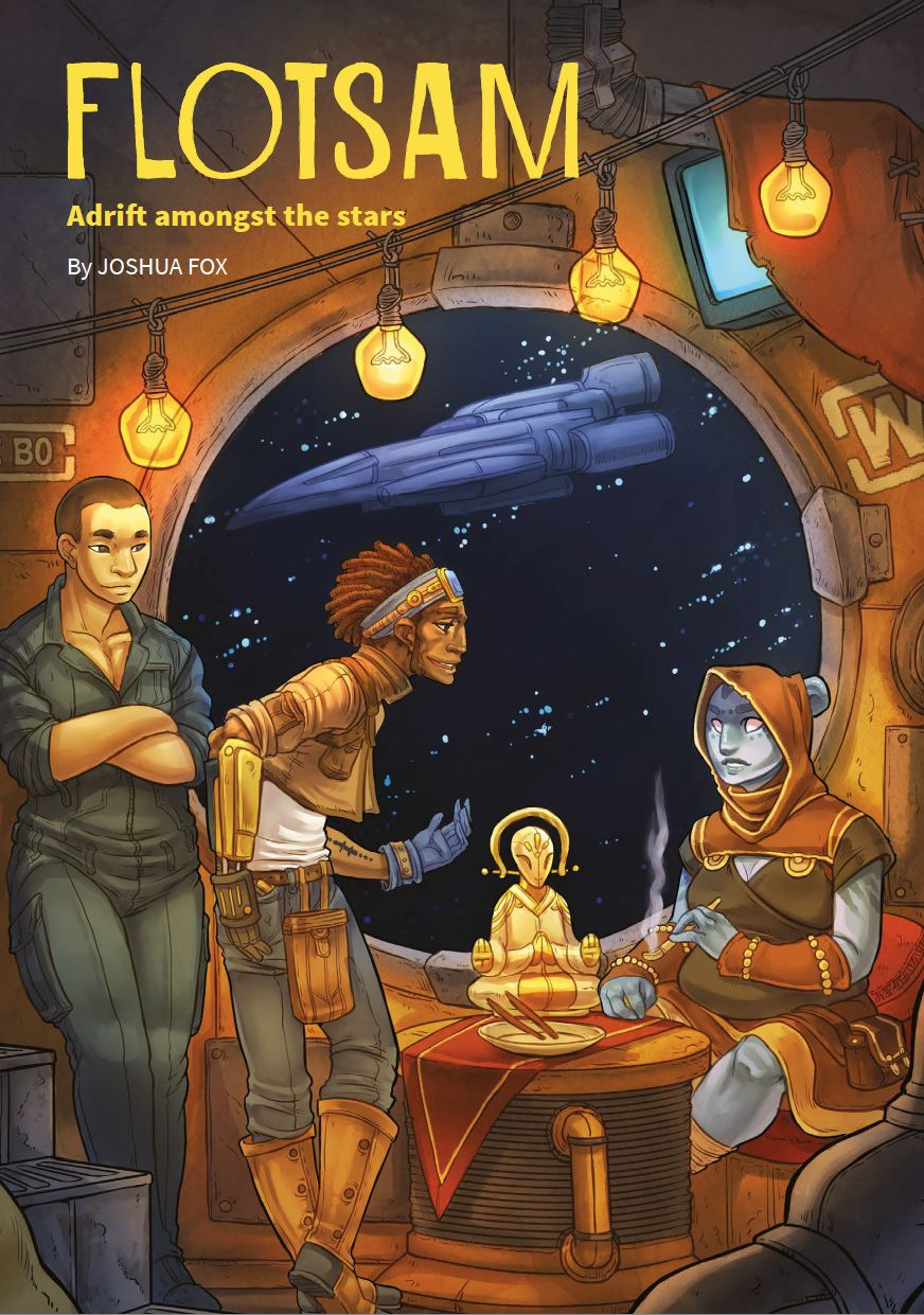 Flotsam: Adrift Amongst the Stars RPG Deluxe Edition -  Black Armada Games