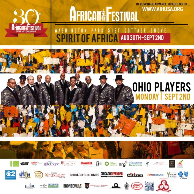30th Annual African Festival Of The Arts Kicks Off August 30th In Washington Park Black Art In America