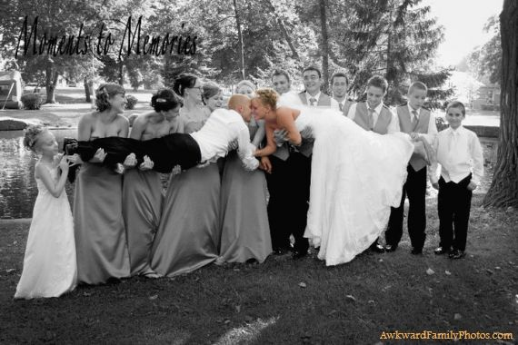 old fashion out dated wedding photo