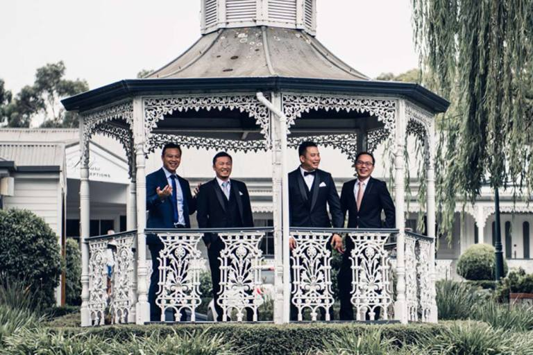 Bridal party wedding photography ideas Melbourne Australia 1