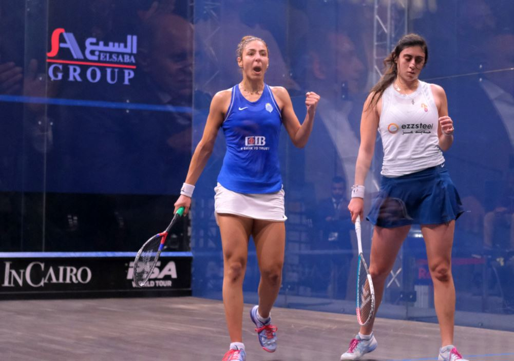 Hania clinches the match too far for Nour…