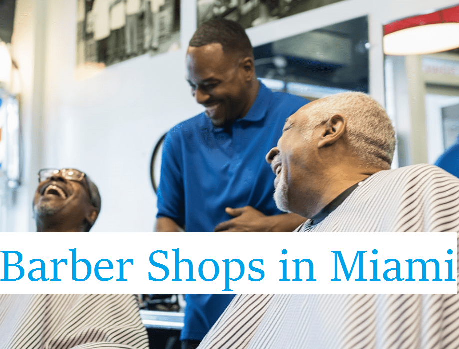 Black Barber Shops in Miami