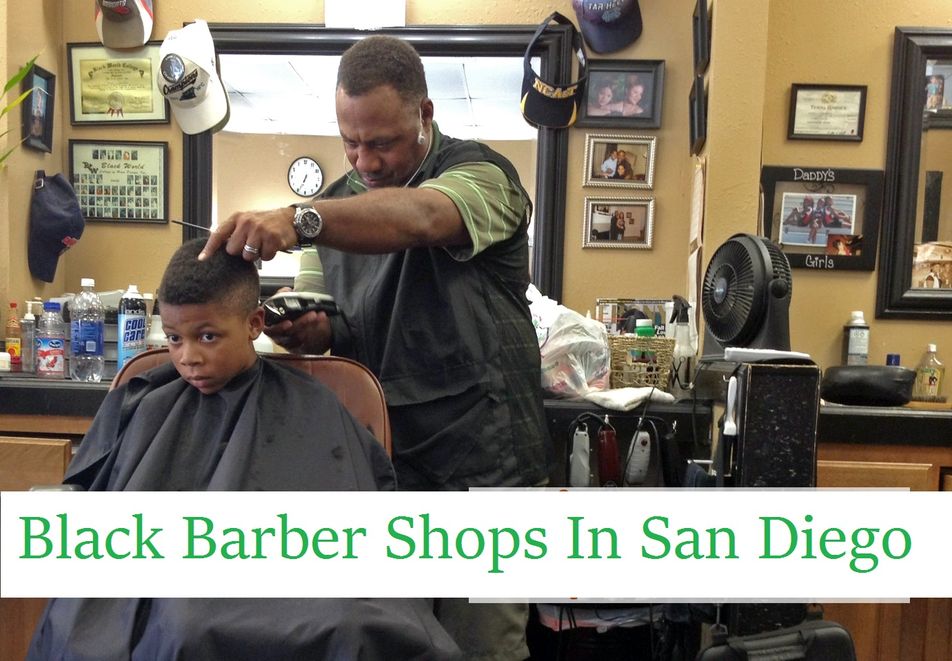 Black Barber Shops in San Diego Complete List | All Places