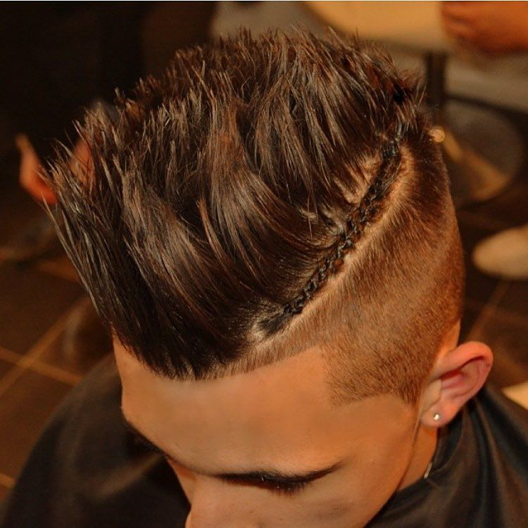 braid hairstyle for men