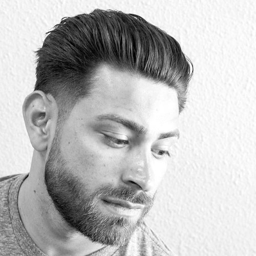 Best Men's Hairstyles for round faces