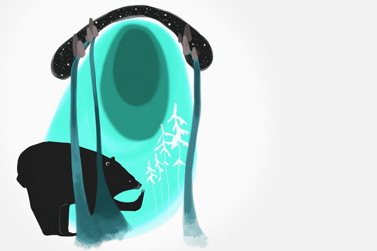 Water Bur - Mercedes Minck - Feature illustration