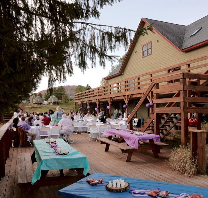 Black Bear Lodge Canaan Valley Wedding Venue