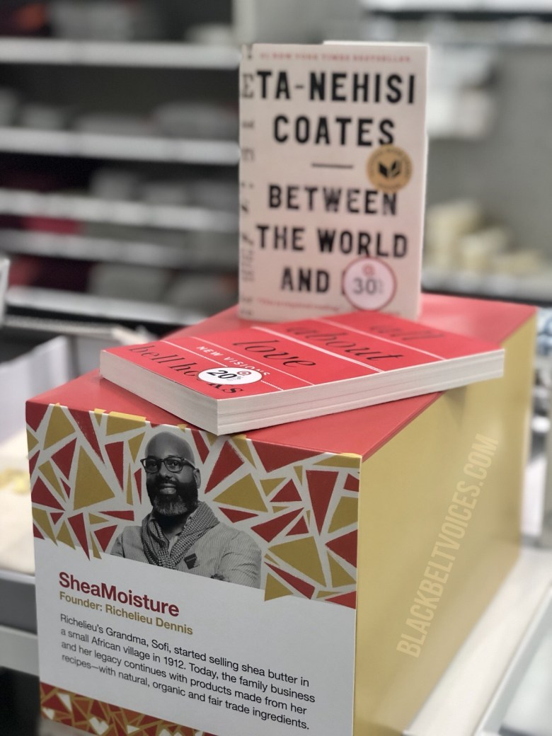 Black History Month display at Target