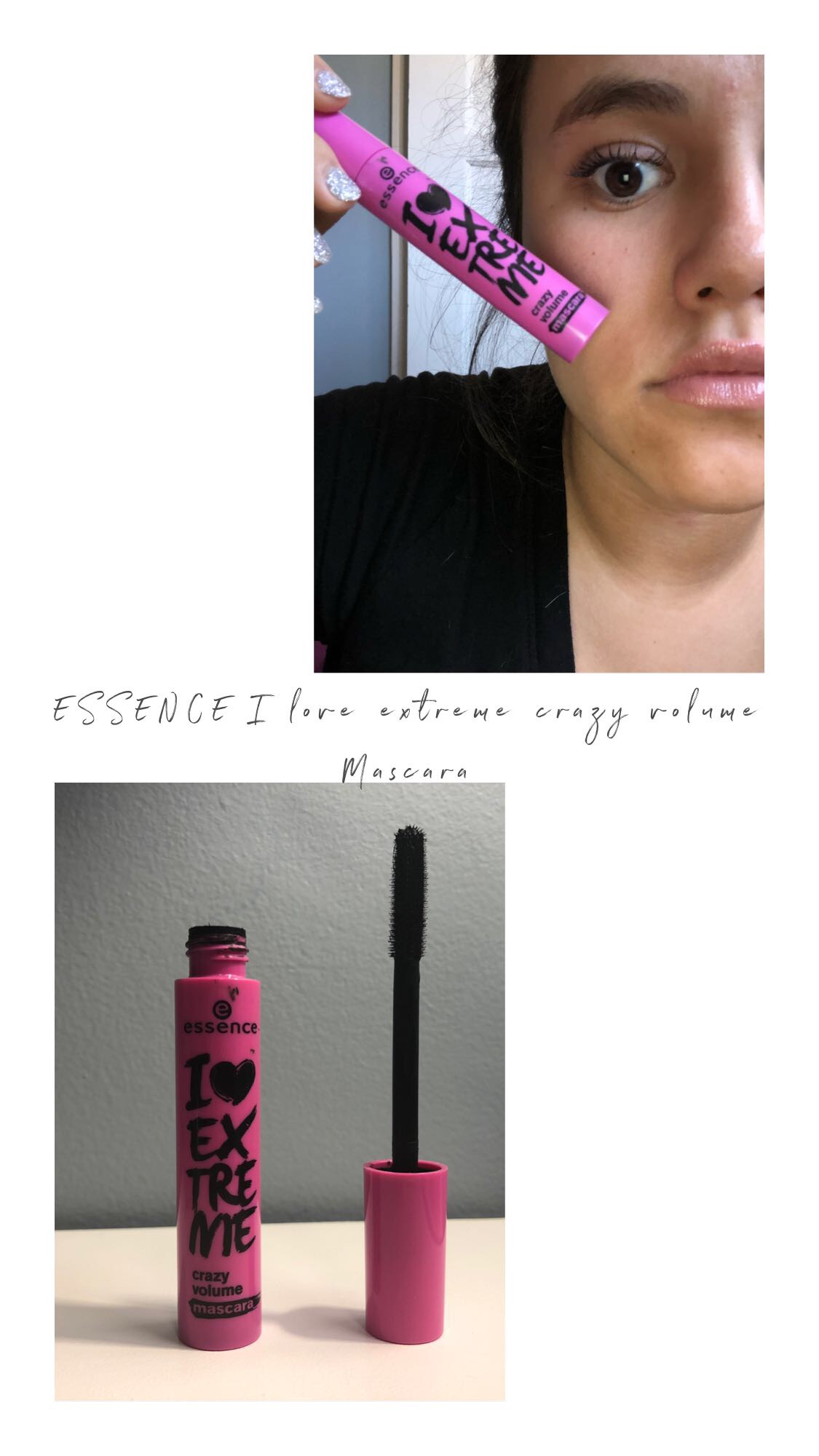 7f05b09d256 I find that my lashes fall, I get product fallout and it just really  doesn't compare to the other Essence Mascaras I have imo.