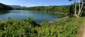 Long Pond in Acadia National Park