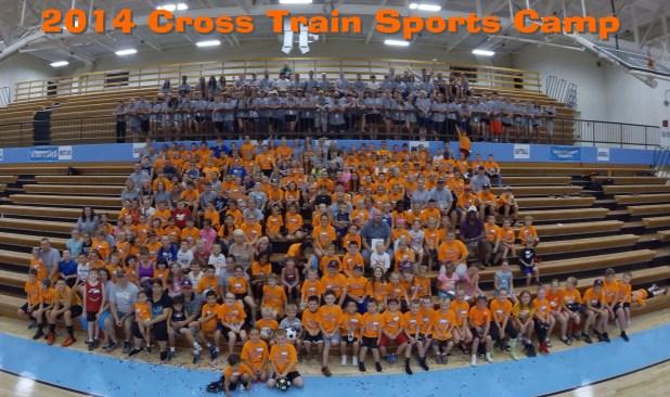 2014 Cross Train Sports Camp Group