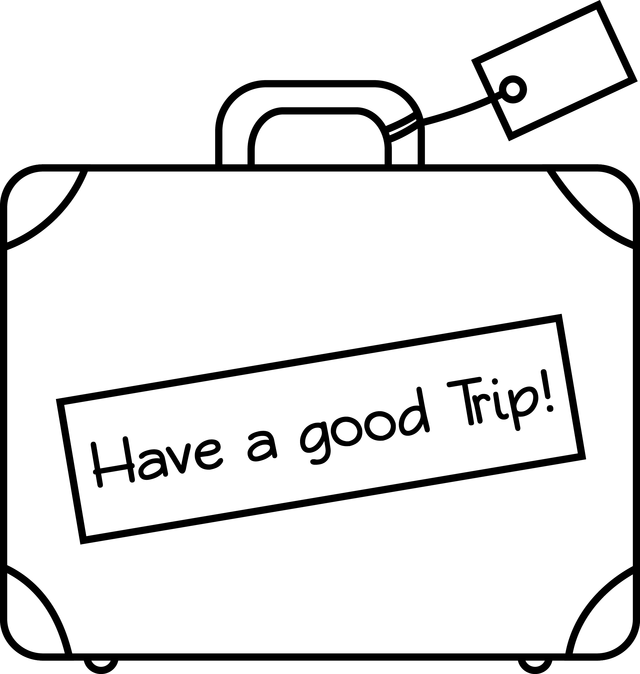 Suitcase Drawing Gallery