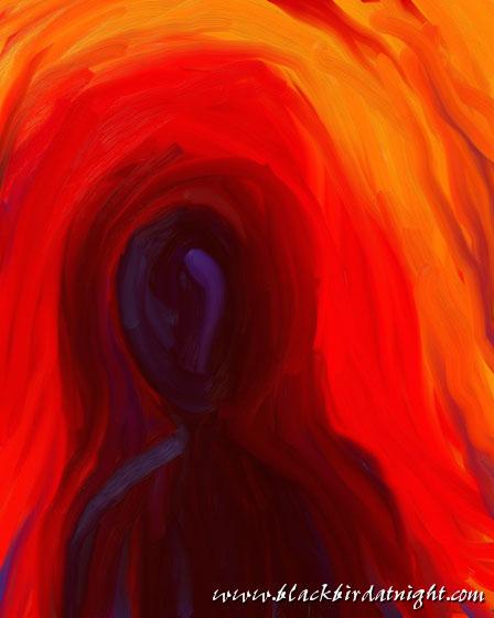 After Munch #4 © 2012 Jane Waterman