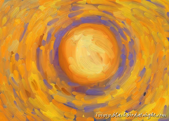 Sun Study #1 © 2015 Jane Waterman