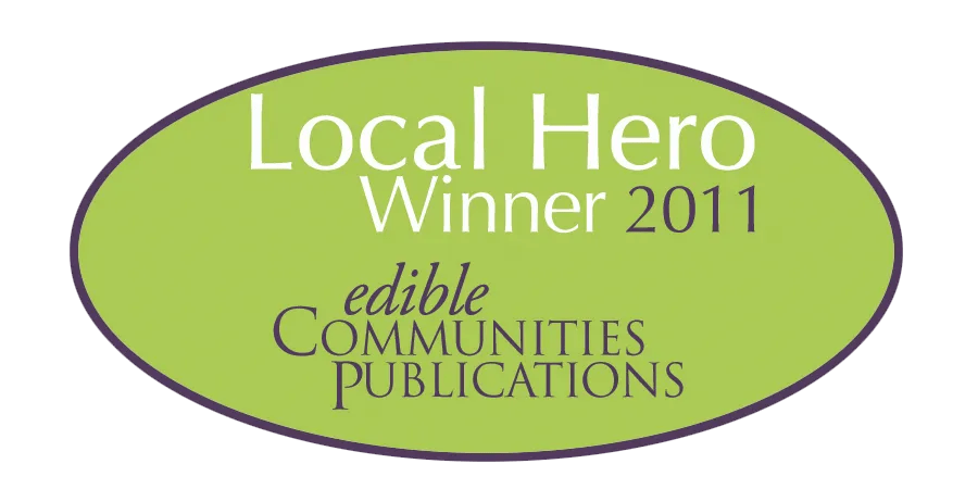 Edible Communities Publications Local Hero 2011 Winner