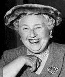 Photo of Dame Agatha Christie