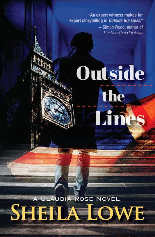 Book cover of Outside the Lines by Sheila Lowe
